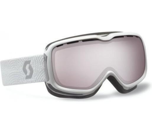 Ochelari Scott Aura White/Silver chrome