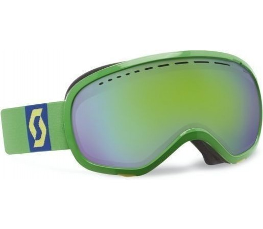Ochelari Scott Off-Grid Lime Green/Green chrome