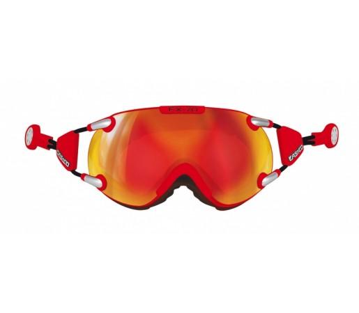 Ochelari Schi si Snowboard Casco FX 70 Carbonic Rosii