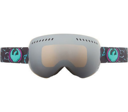 Ochelari Ski DRAGON APXS Gigi NoBrainer Jet Ionized /Yellow-BlueIonized