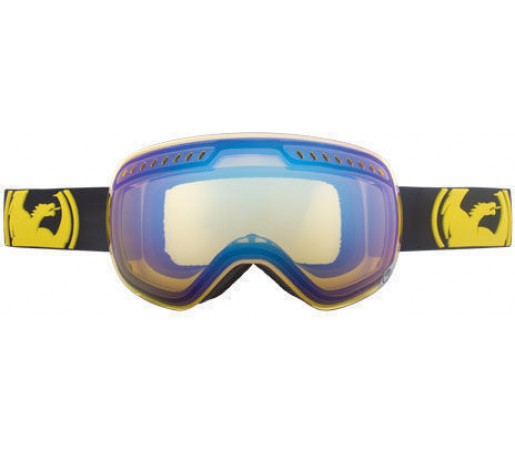 Ochelari schi si snowboard DRAGON APXS Pop Yellow / Yellow Blue Ion