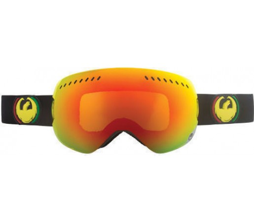 Ochelari Ski DRAGON APXS Rasta Red Ionized / Yellow-BlueIonized