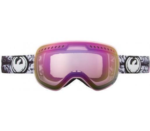 Ochelari Ski DRAGON APXS Telepathic Elephants Pink Ionized /Jet Ionized