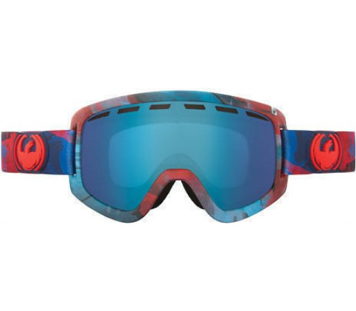Ochelari Ski DRAGON D1 WaterColor Blue Steel /YellowBlueIonized