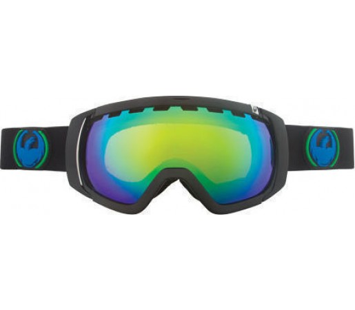 Ochelari Schi si Snowboard Dragon ROGUE Jet Negru / Green+ Yellow Blue Ion