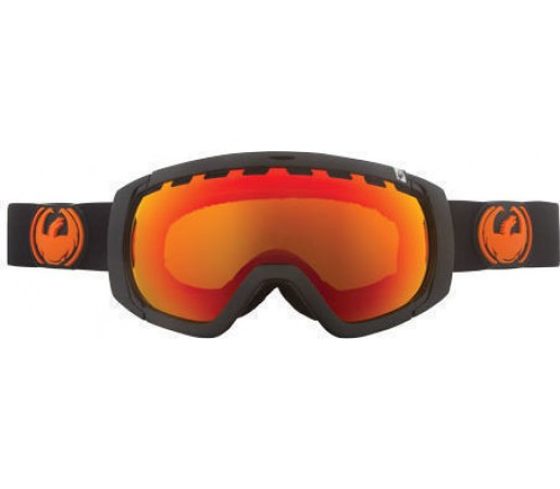 Ochelari Schi si Snowboard Dragon ROGUE Negru / Red Ion+ Yellow Blue Ion