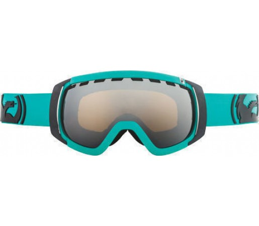 Ochelari Ski DRAGON ROGUE Solid Teal  Jet Ionized
