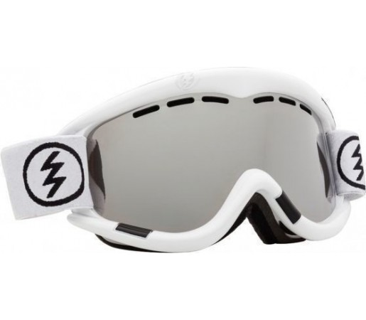Ochelari Ski ELECTRIC EG1 Gloss White (Bronze/Silver Chrome)