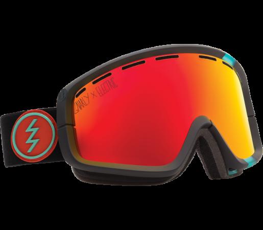 Ochelari Ski ELECTRIC EGB2 Gnarly Bronze/Red Chrome