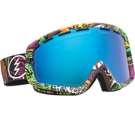 Ochelari Ski ELECTRIC EGB2 Jimbo Phillips Bronze/Blue Chrome