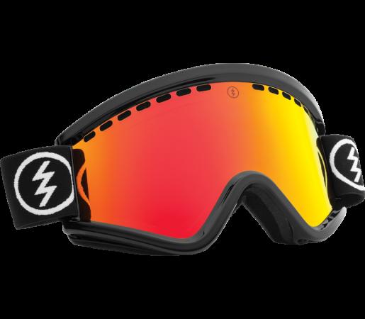 Ochelari Ski ELECTRIC EGV Gloss Black Bronze/Red Chrome