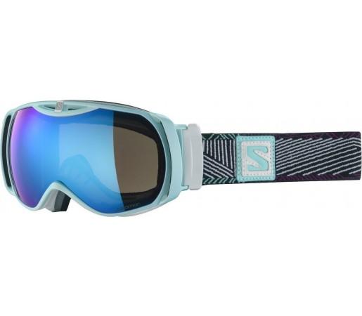 Ochelari ski Salomon X-TEND 12 Small ML Blue/Solar