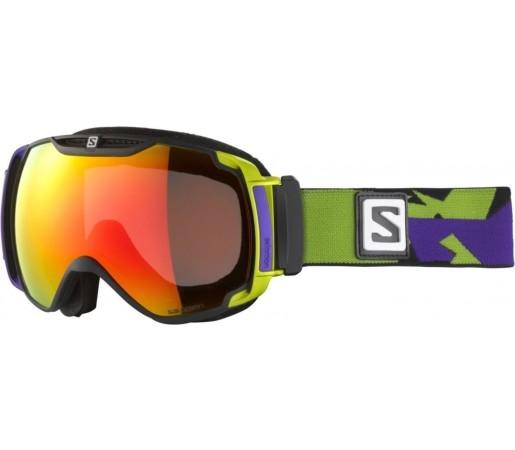 Ochelari ski Salomon X-TEND 12ML Green/Universal