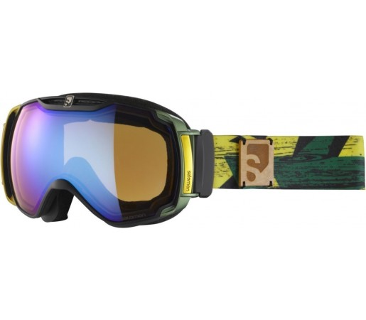 Ochelari ski Salomon X-TEND 12ML  Yellow/Lowlight