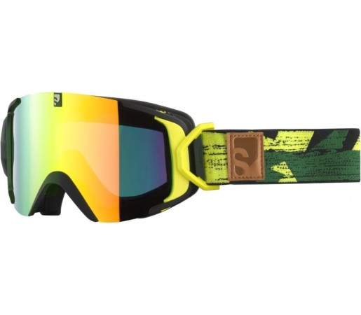 Ochelari ski Salomon X-VIEW12 ML Yellow green
