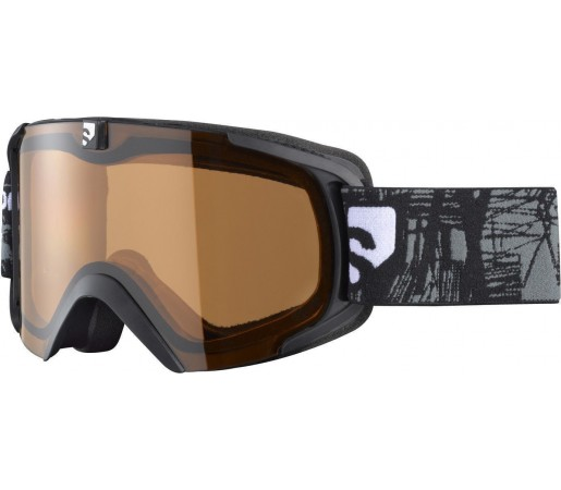 Ochelari ski Salomon X-VIEW8 SMALL S Black/Low Light
