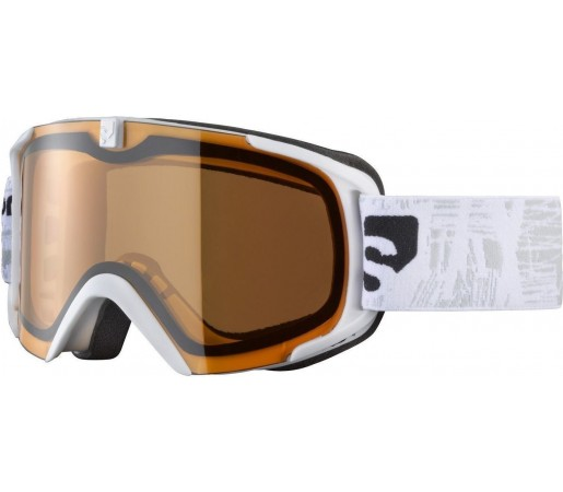 Ochelari ski Salomon X-VIEW8 SMALL S White/Low Light