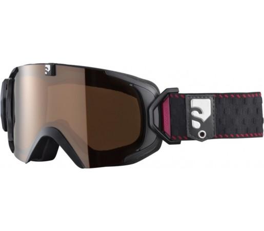 Ochelari ski Salomon X-VIEW 12 SMALL UM Black/Solar