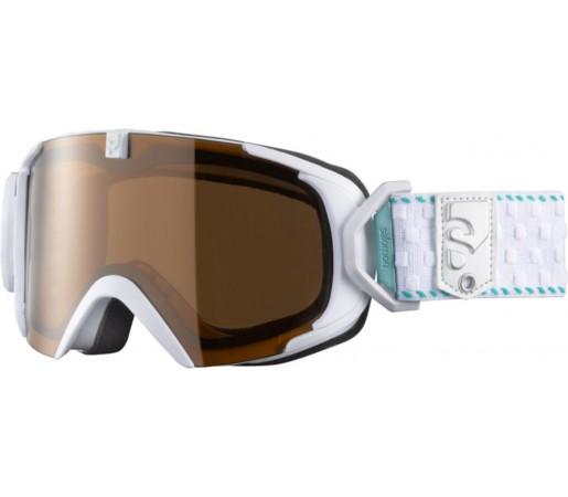 Ochelari ski Salomon X-VIEW 12 SMALL UM White/Solar