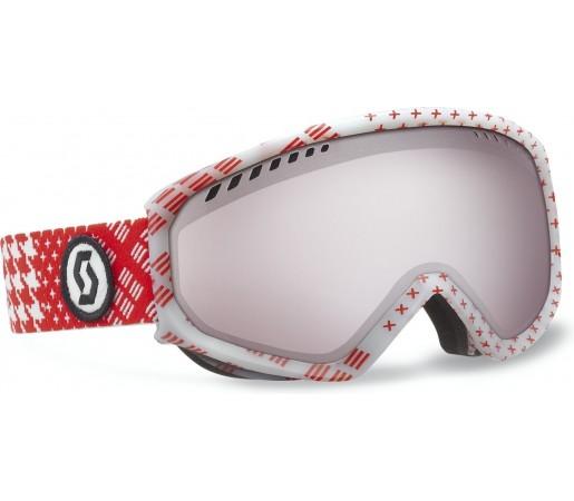 Ochelari Ski si Snowboard Scott Faze Patternmash red- Silver chrome