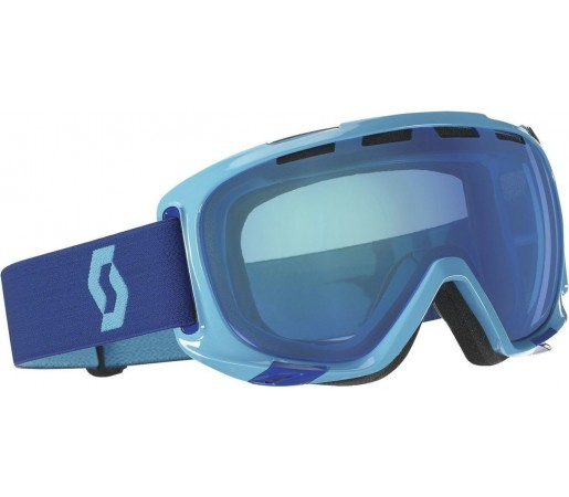 Ochelari Ski si Snowboard Scott  Fix Solid Blue/ Blue Chrome