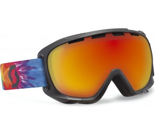 Ochelari Ski si Snowboard Scott Fix Tiedye multicolor/ Red chrome