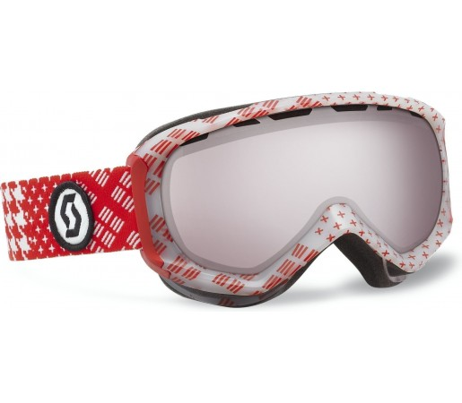 Ochelari Ski si Snowboard Scott Replay Patternmash Red- Silver chrome