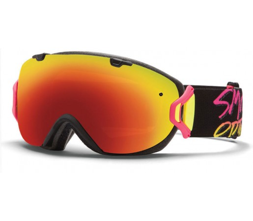 Ochelari Ski si Snowboard Smith I/OS Stay Rad/ Red Sol-X