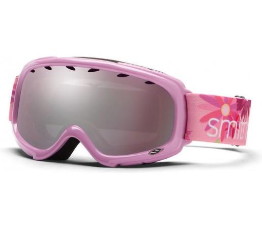 Ochelari Ski si Snowboard Smith Pink Daisy/ Gold