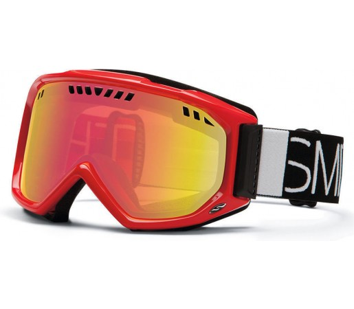 Ochelari Ski si Snowboard Smith SCOPE Fire Blockhead / Red Sensor