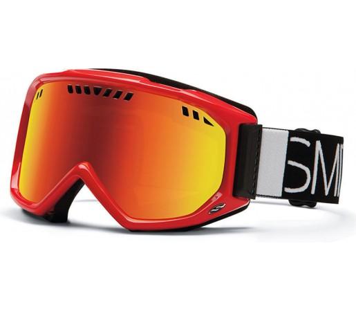 Ochelari Ski si Snowboard Smith SCOPE Fire Blockhead / Red Sol-X