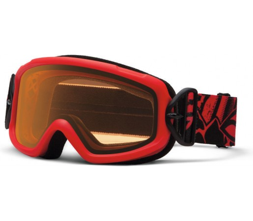 Ochelari Ski si Snowboard Smith Sidekick Jr. Fire Charger / Gold