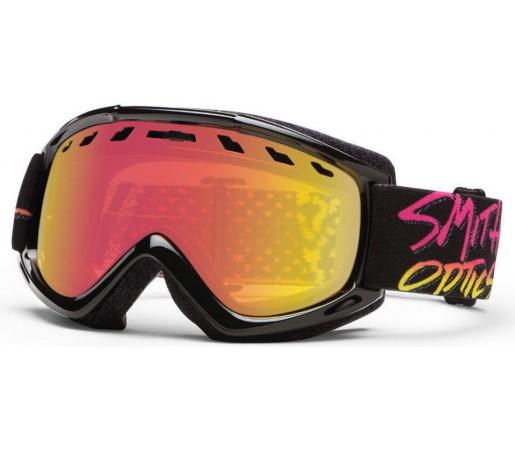 Ochelari Ski si Snowboard Smith Sentry Stay Rad / Red Sol-X