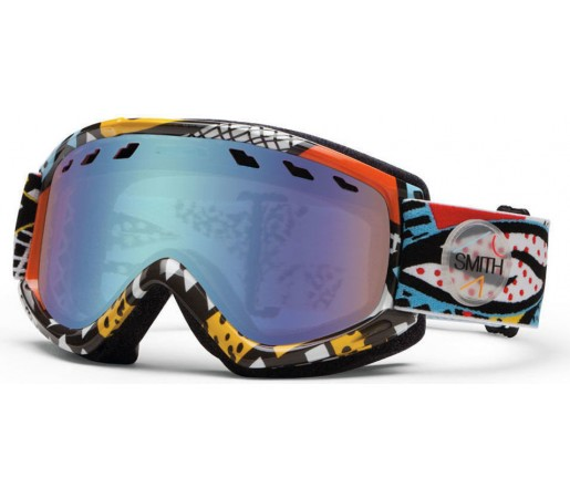 Ochelari Ski si Snowboard Smith Sentry White Carlton/ Green Sol-X