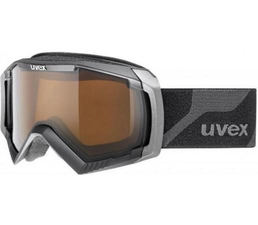 Ochelari Ski si Snowboard Uvex Apache 2 Polavision Pro Black Matt
