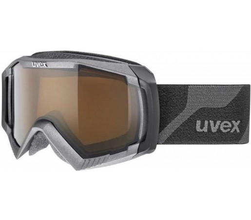 Ochelari Ski si Snowboard Uvex Apache 2 Polavision Pro Carbon Black