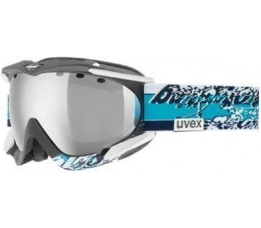 Ochelari Ski si Snowboard Uvex Apache Pro Black- Blue Graphic