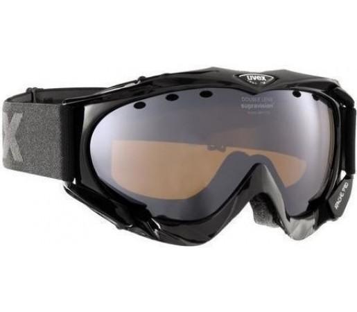 Ochelari Ski si Snowboard Uvex Apache Pro Shiny Black