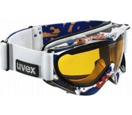Ochelari Ski si Snowboard Uvex Apache Style White- Blue- Orange