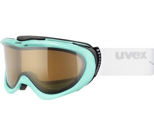 Ochelari Ski si Snowboard Uvex Comanche Pola Turquoise- White