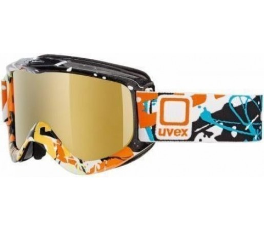Ochelari Ski si Snowboard Uvex GGL4 Black- Orange