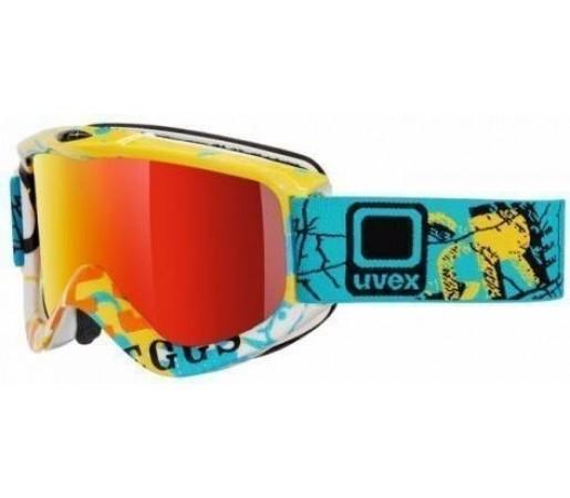 Ochelari Ski si Snowboard Uvex GGL4 Blue- Yellow