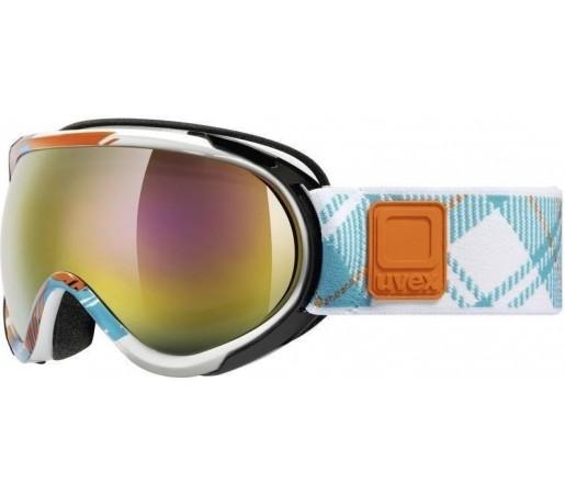Ochelari Ski si Snowboard Uvex GGL 7 Pro White- Blue- Orange