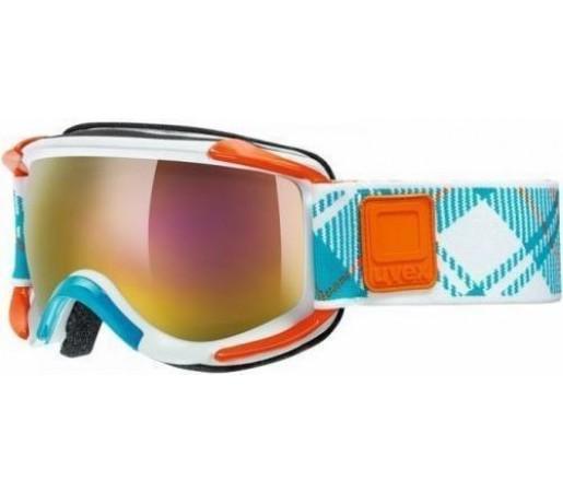 Ochelari Ski si Snowboard Uvex GLL 5 Sioux White-Orange