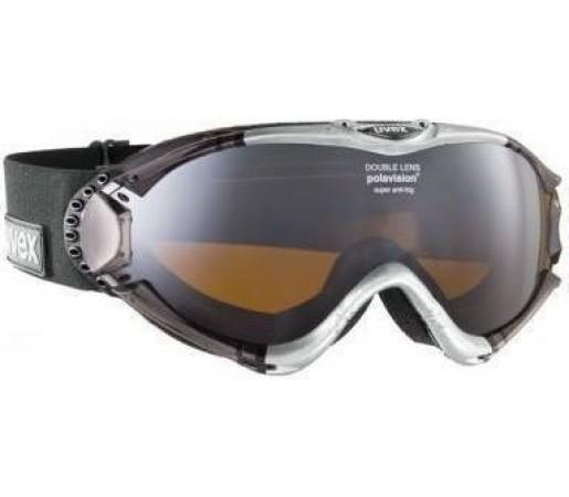 Ochelari Ski si Snowboard Uvex Ultrasonic Pola HD Black- Silver
