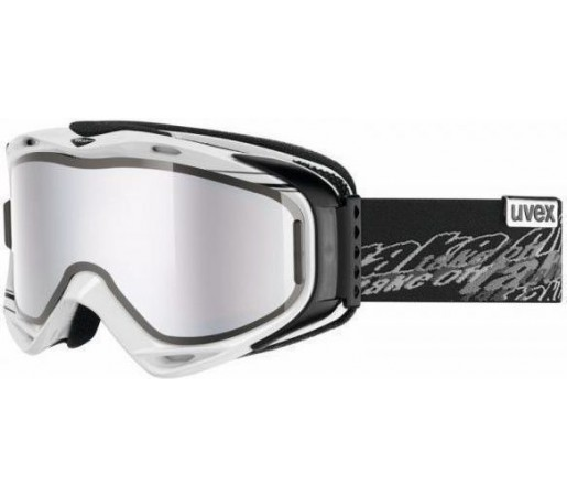 Ochelari Ski si Snowboard Uvex Uvision Take Off White- Black