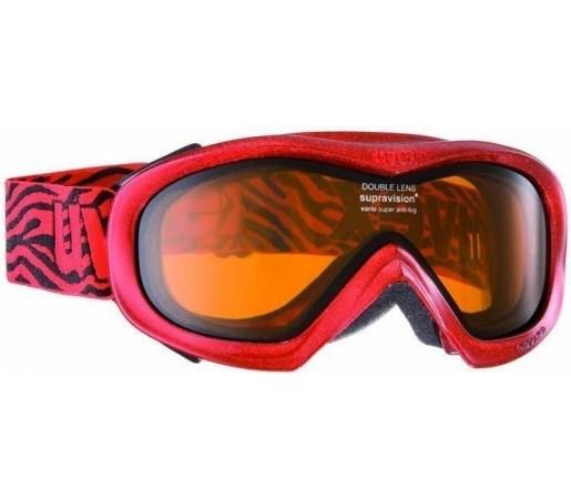 Ochelari Ski si Snowboard Uvex Wizzard DL Red- Black