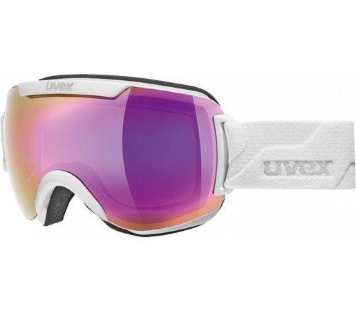 Ochelari Ski si Sonwboard Uvex Downhill 2000 White/ Light Pink