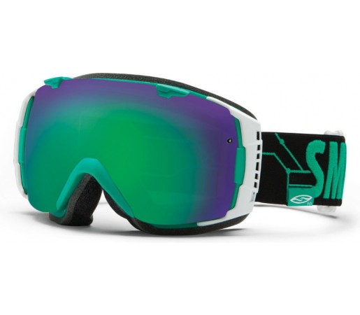 Ochelari Ski si Snowboard Smith I/O Bobby Digital/ Green Sol- X