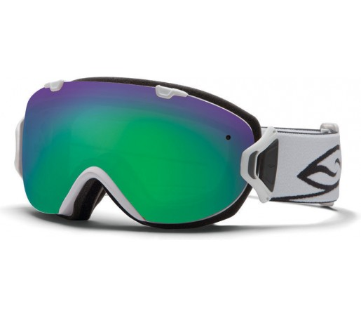 Ochelari Ski si Snowboard Smith I/OS White/ Green Sol-X lens